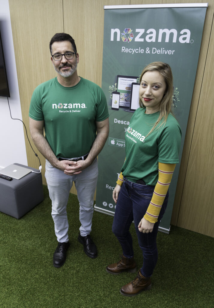 Andre, CEO and Lisa, Community Manager of Nozama