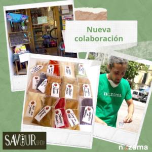 Nueva colaboración de Savourshop con Nozama Green